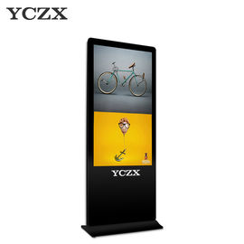"4K WiFi Touch Screen Kiosk , 55"" Totem LCD Touch Screen Digital Signage"