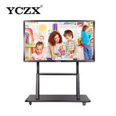 "10 Points Infrared Touch Interactive Flat Panel , 42"" 4K Interactive Digital Display"