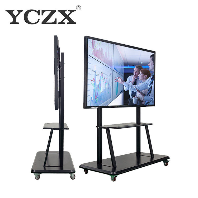 "32 - 98"" High Resolution Smart Board Interactive Whiteboard Display For Education supplier"