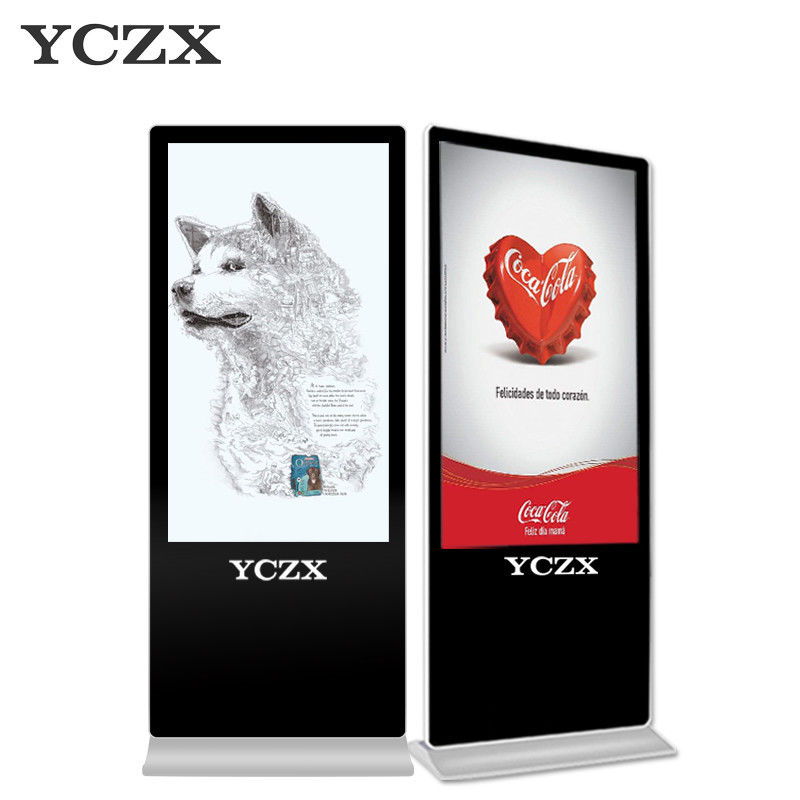 Standing Interactive Digital Signage LCD Display 2K HD For Advertising