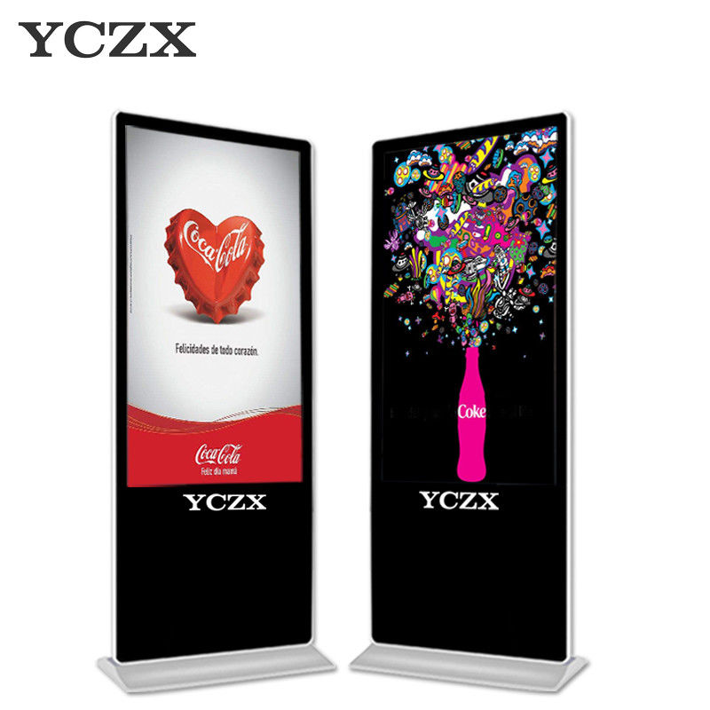 USB Interactive Digital Signage LCD Advertising Display With IR Touch Screen
