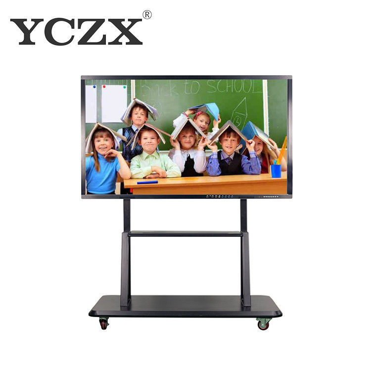 Multi Touch Smart Board Interactive Whiteboard With Aluminum Alloy Frame