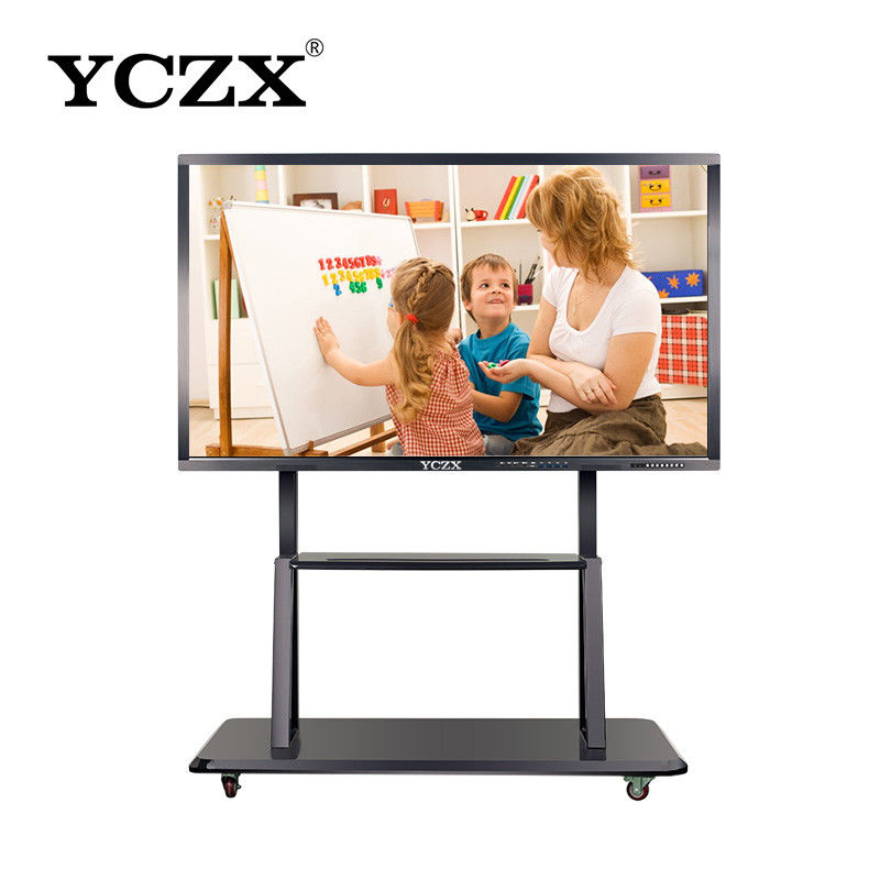 "86"" Smart IR Interactive Whiteboard Multi Functional For School Teaching"
