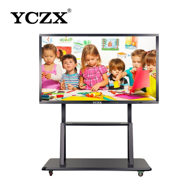 Wall - Mount Touch Screen Interactive Whiteboard For Classroom / Office