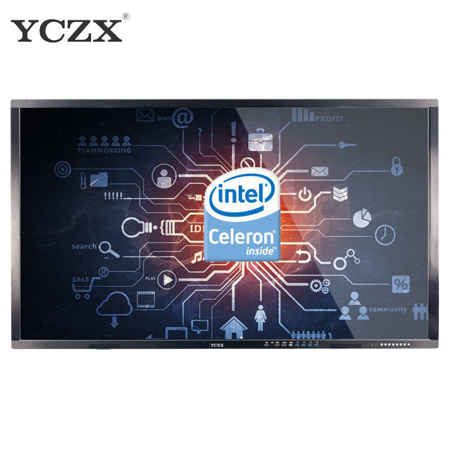 "75"" IR Interactive Whiteboard , Anti Glare Touch Screen Optical Interactive Whiteboard"